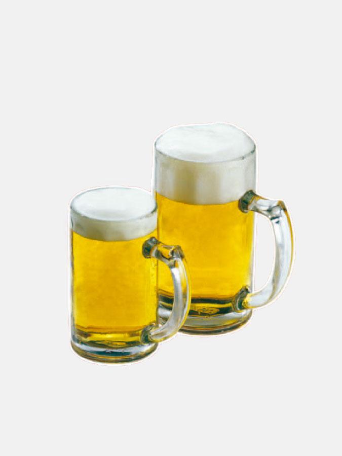 Bier Klebeetikette