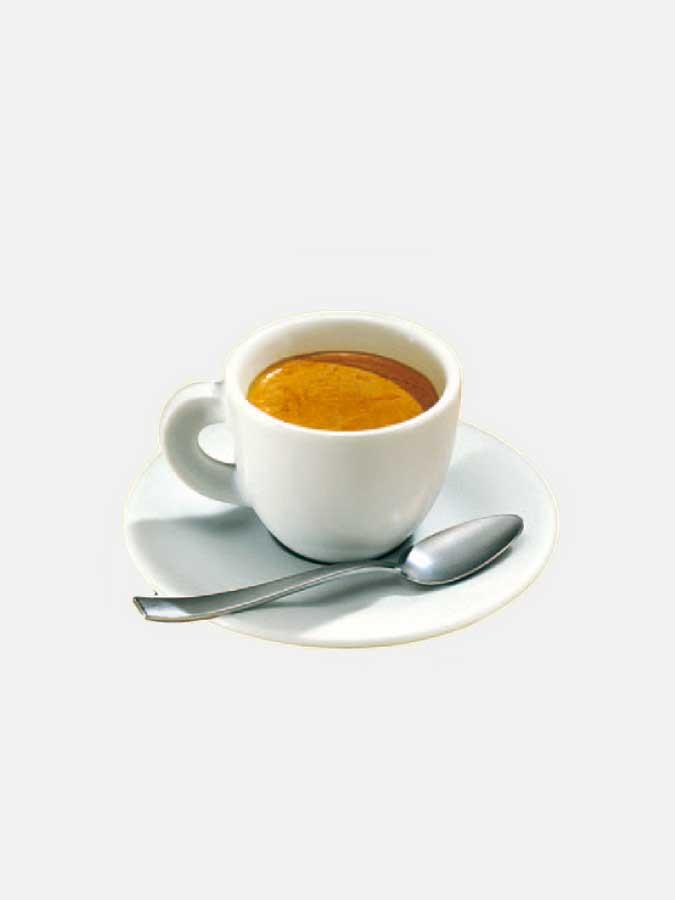 Kaffee Klebeetikette