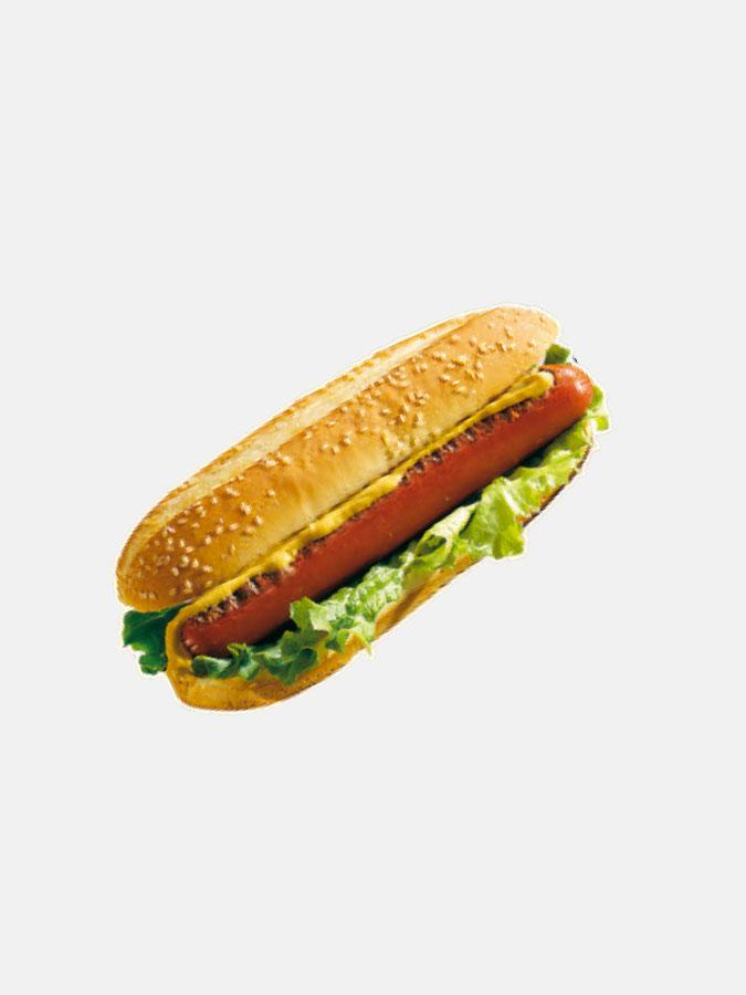 Adhésif hot dog