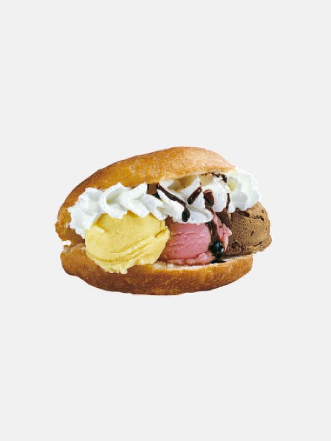 Ice-cream sandwich adhesive