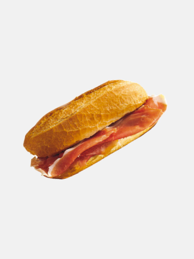 Adhésif sandwich au jambon
