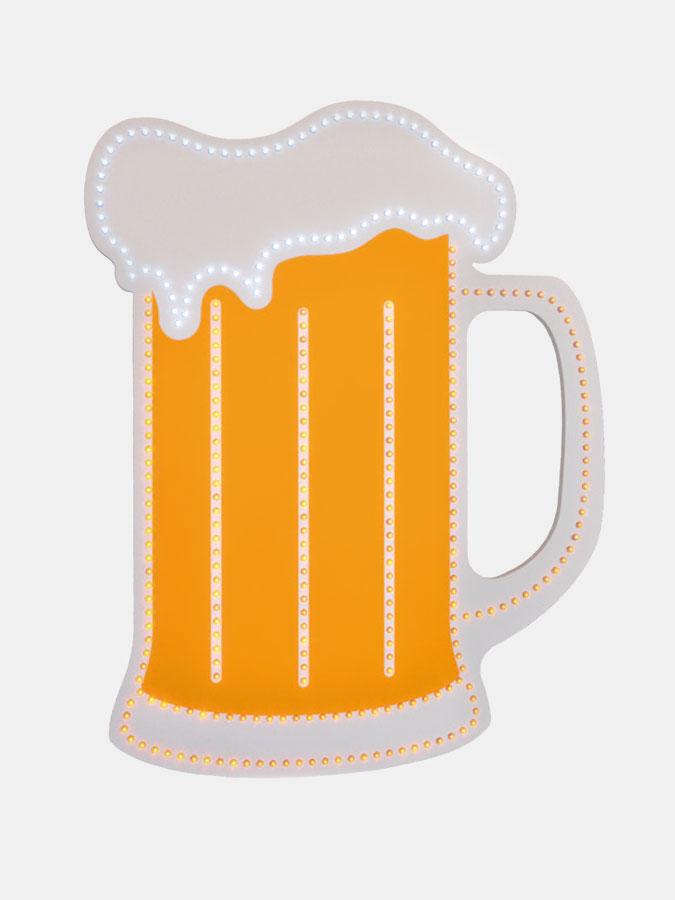 Beer mug visible LED - Art.0724