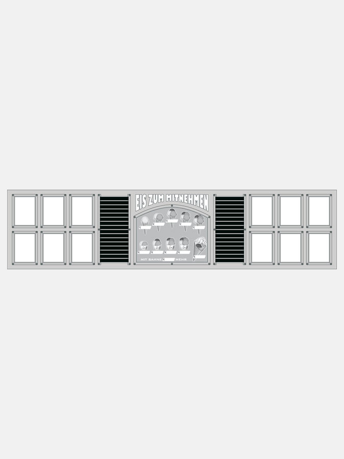 Espositore luminoso Complete - Art. 0500