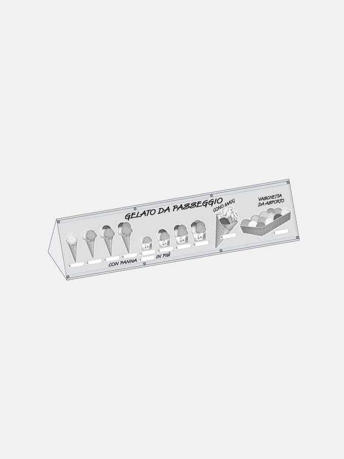 Espositore luminoso Minibox - Art. 1005