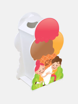 Porte-déchets double face baby - Art. 2504
