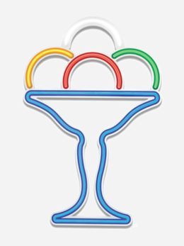 Ice-cream cup flexible LED tube - Art. 0702/L