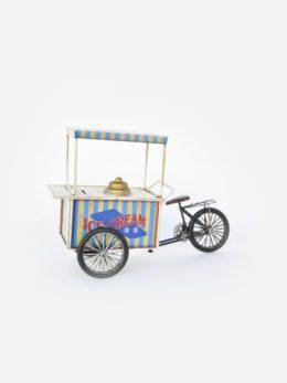 """Carretto con funzione di salvadanaio """"bicicleta"""" - Art. 2250/2"""